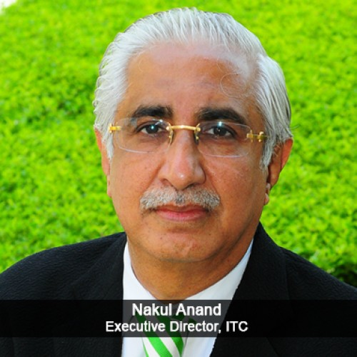 Most Respected Veteran of the Hospitality Industry Nakul Anand, Executive Director, ITC