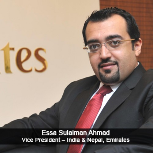 Most Outstanding Airline Person of the Year Essa Sulaiman Ahmad, Vice President – India & Nepal, Emirates