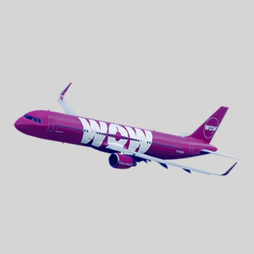 Wow Air welcomes first Airbus A320neo to fleet