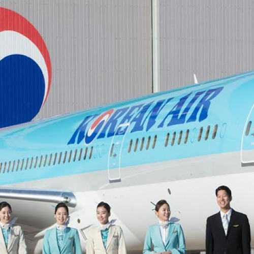 "Korean Air honored as the ""Best Airline Service Provider"""
