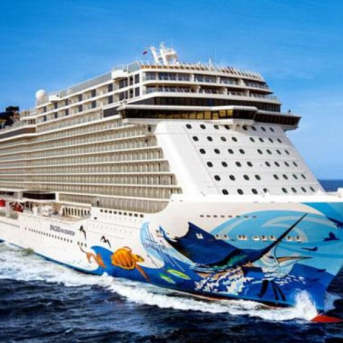 Largest Asian cruise ship starts maiden voyage