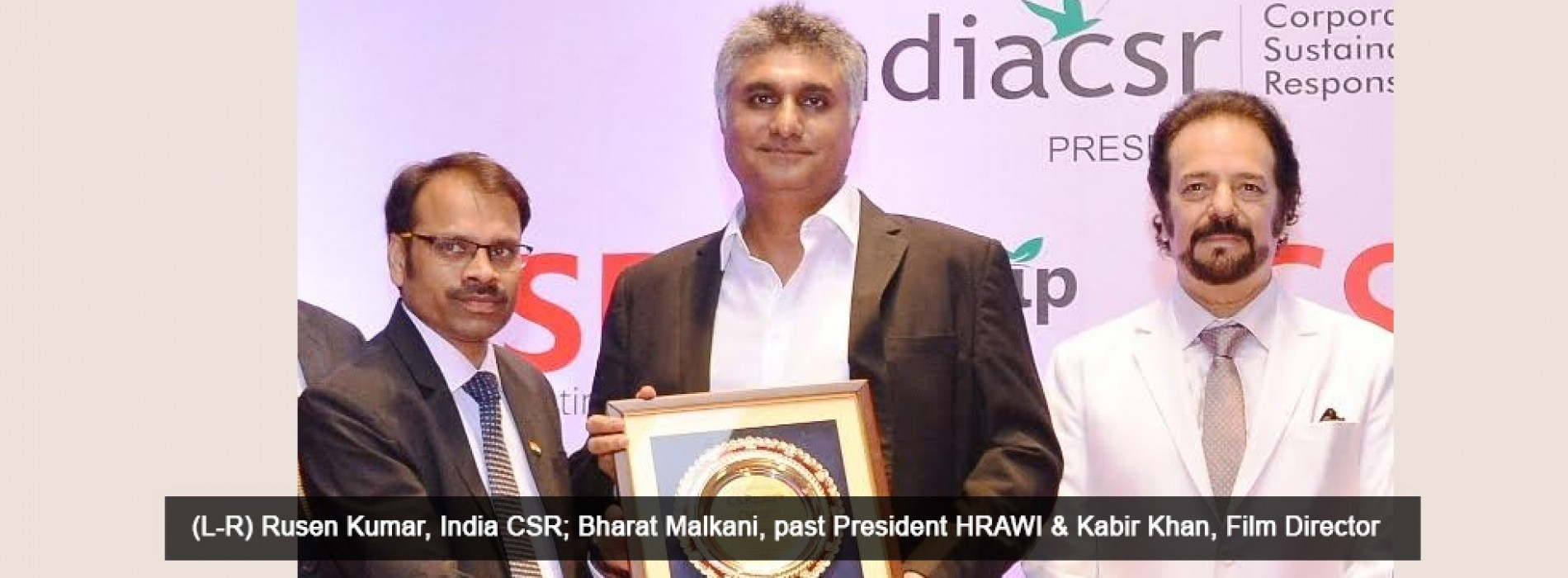 HRAWI's Project Pickle initiative receives accolades at India CSR Leadership Summit & Awards 2017