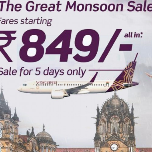 After IndiGo, now Vistara offers discounts with fares starting Rs 849