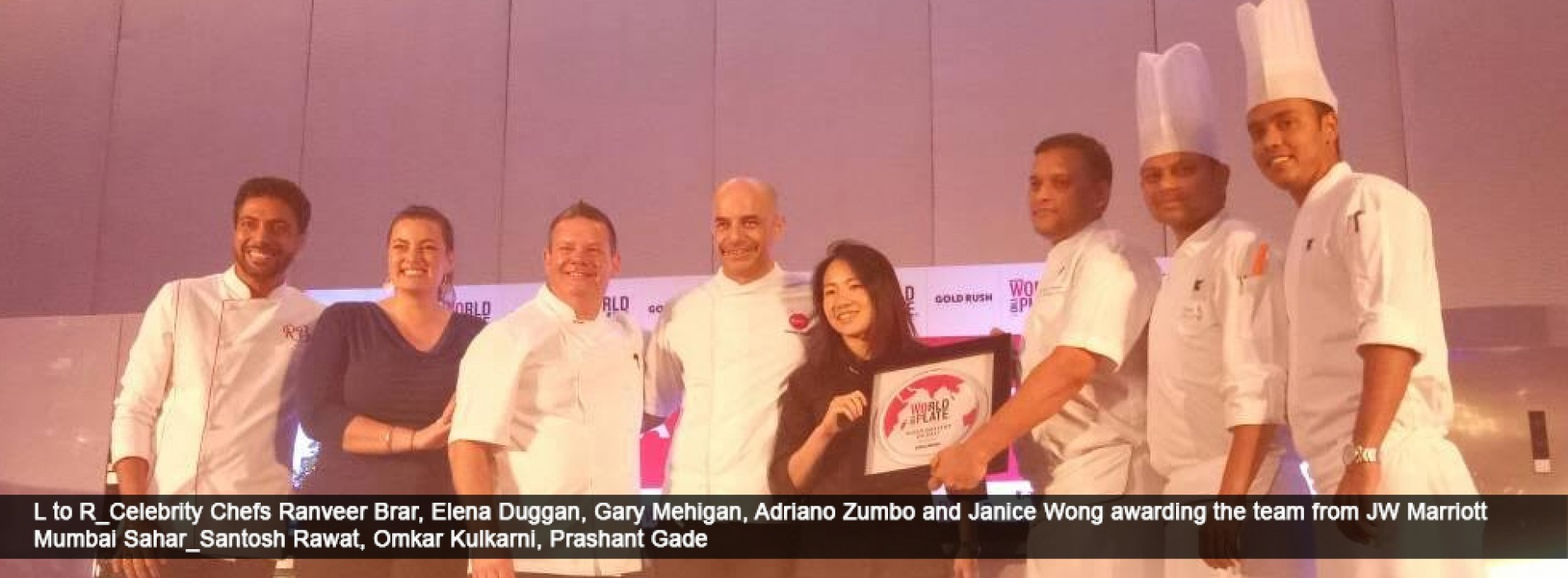 JW Cafe bags Best Dessert At World On A Plate 2017, Mumbai