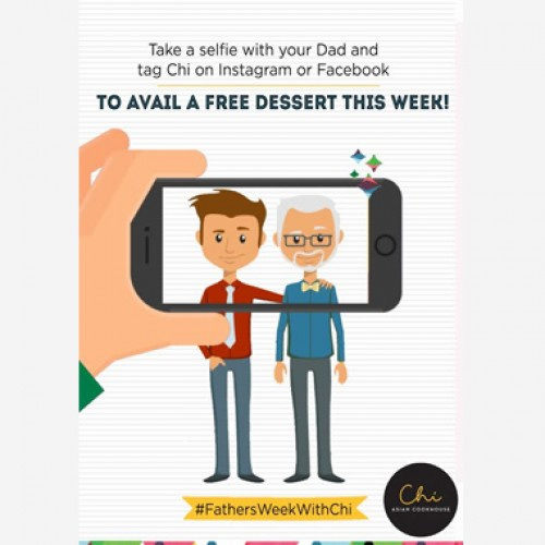 #FathersWeekWithChi at Chi Asian Cookhouse, SDA & Mall of India