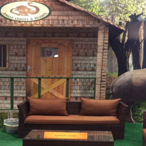 Karnataka tourism department participated with Year of the wild theme at ATM Dubai 2017