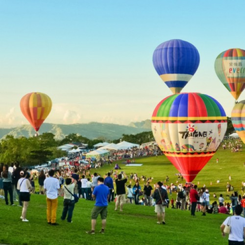 Visit the Taiwan Hot Air Balloon Festival
