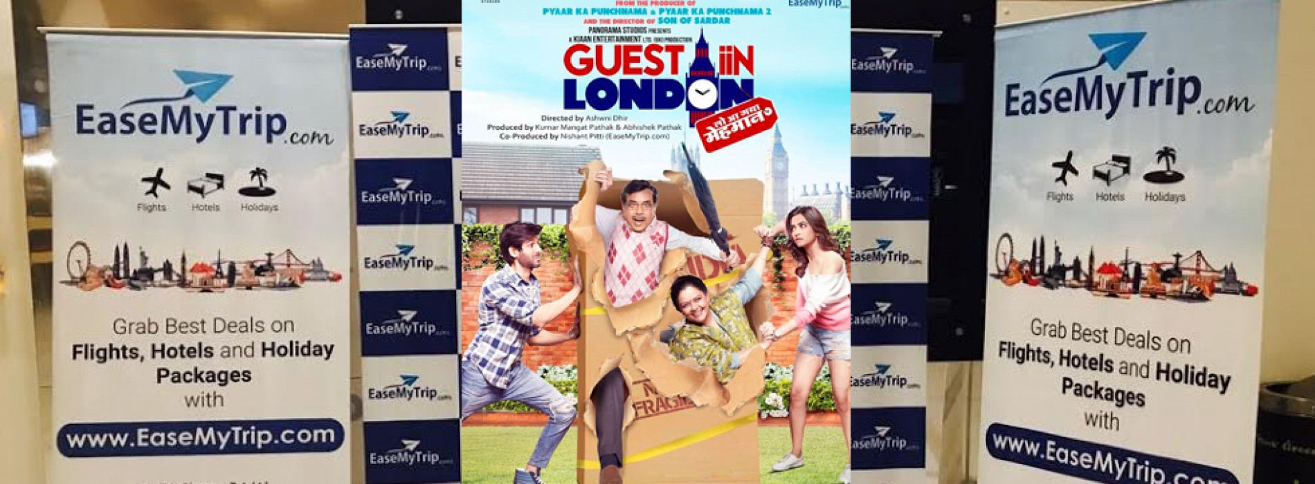 Special screening of the Film 'Guest Iin London' by EaseMyTrip