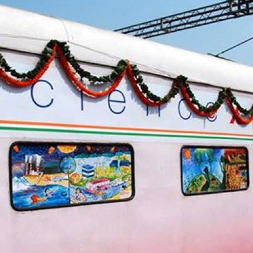 Science Express train to halt at Nagpur from July 30