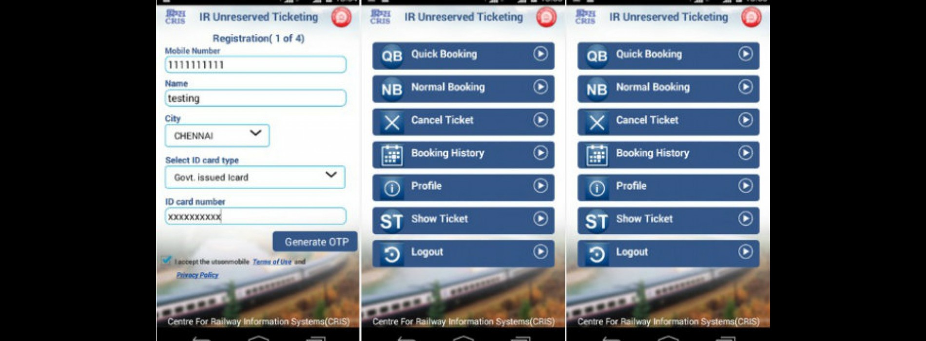 Railways to launch a mobile application for booking flight tickets