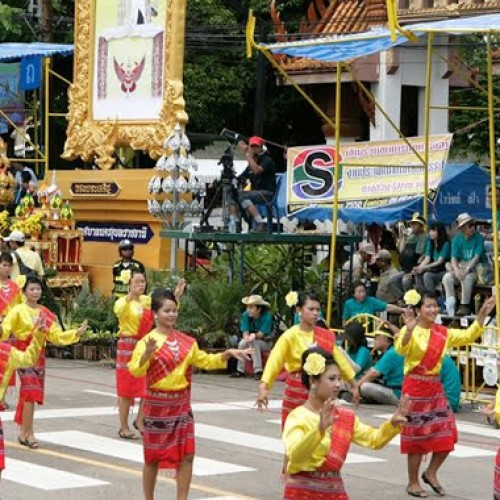Ubon Ratchathani International Wax Candle Festival