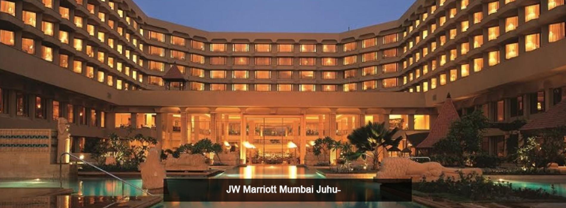 A luxurious seaside getaway awaits you at JW Marriott Mumbai Juhu