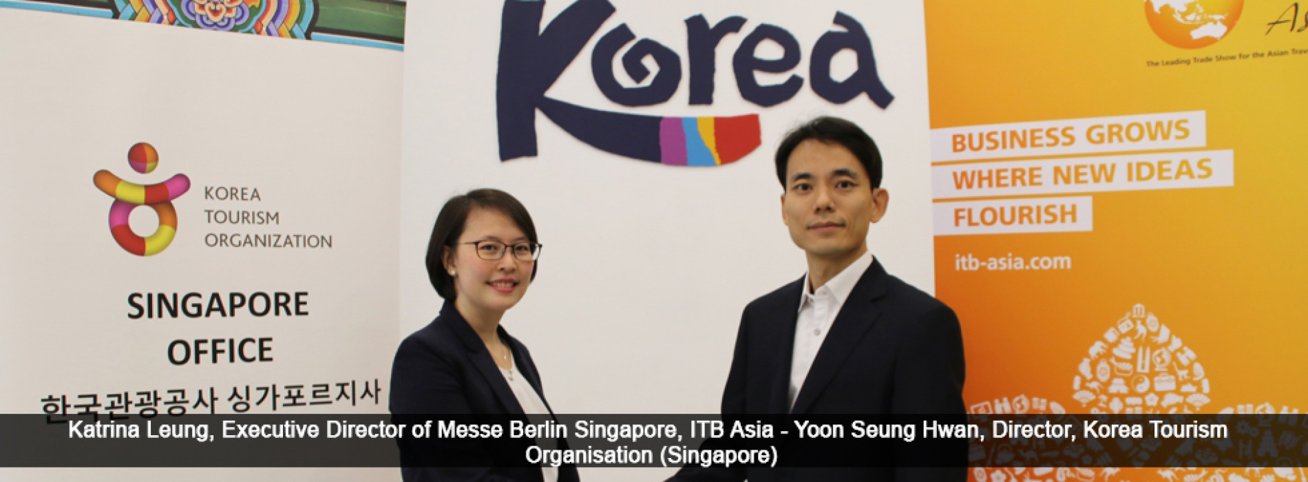 ITB Asia 2017 announces major partnership with Korea Tourism Organization