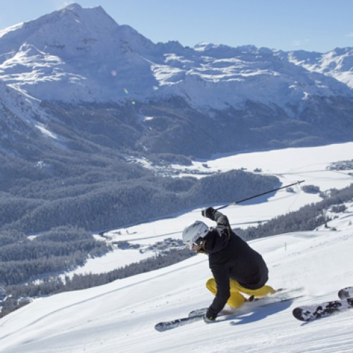 Learn how to Ski in the birthplace of winter tourism, St. Moritz