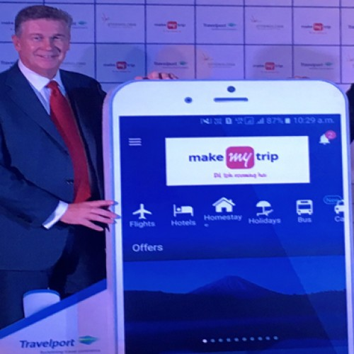 MakeMyTrip to use the Travelport Platform