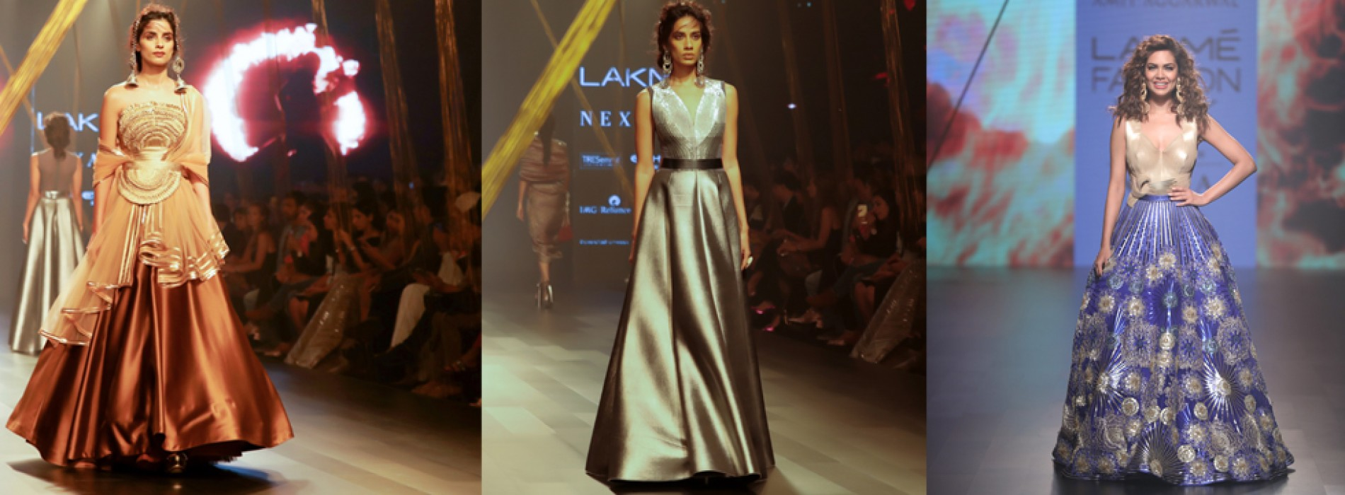 """Monaco from the Heart of Kashi"" by Amit Aggarwal created a cultural connect at Lakme Fashion Week Winter/Festive 2017"