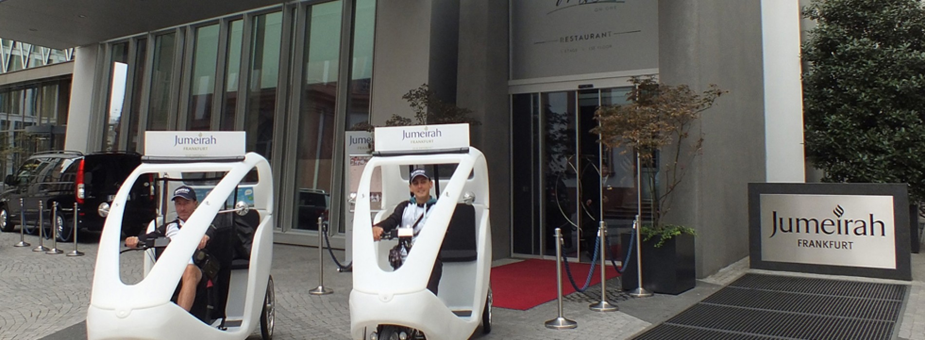Frankfurt is the ideal destination for a sustainable stay and green mobility