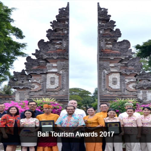 Nusa Dua Beach Hotel & Spa is a proud winner in the two categories of Bali Tourism Awards 2017