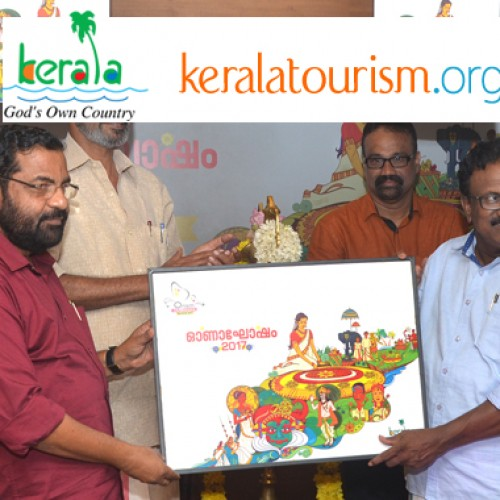 Tourism Minister Kadakampally Surendran inaugurates festival office for Onam celebrations at Trivandrum