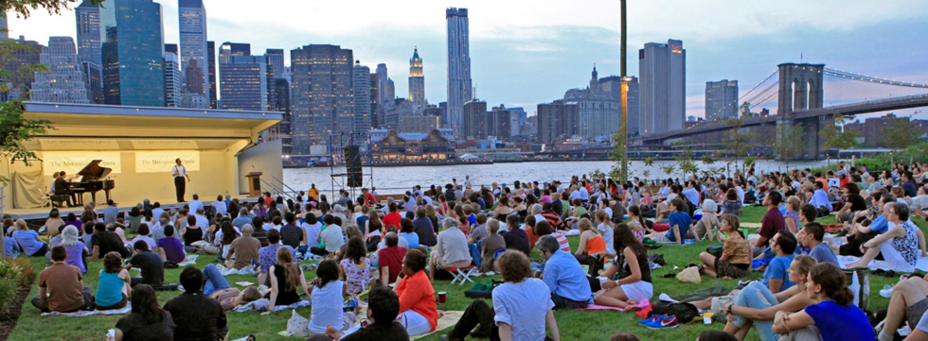 August in New York, Free and Affordable Summer Outdoor Concert Series and Events
