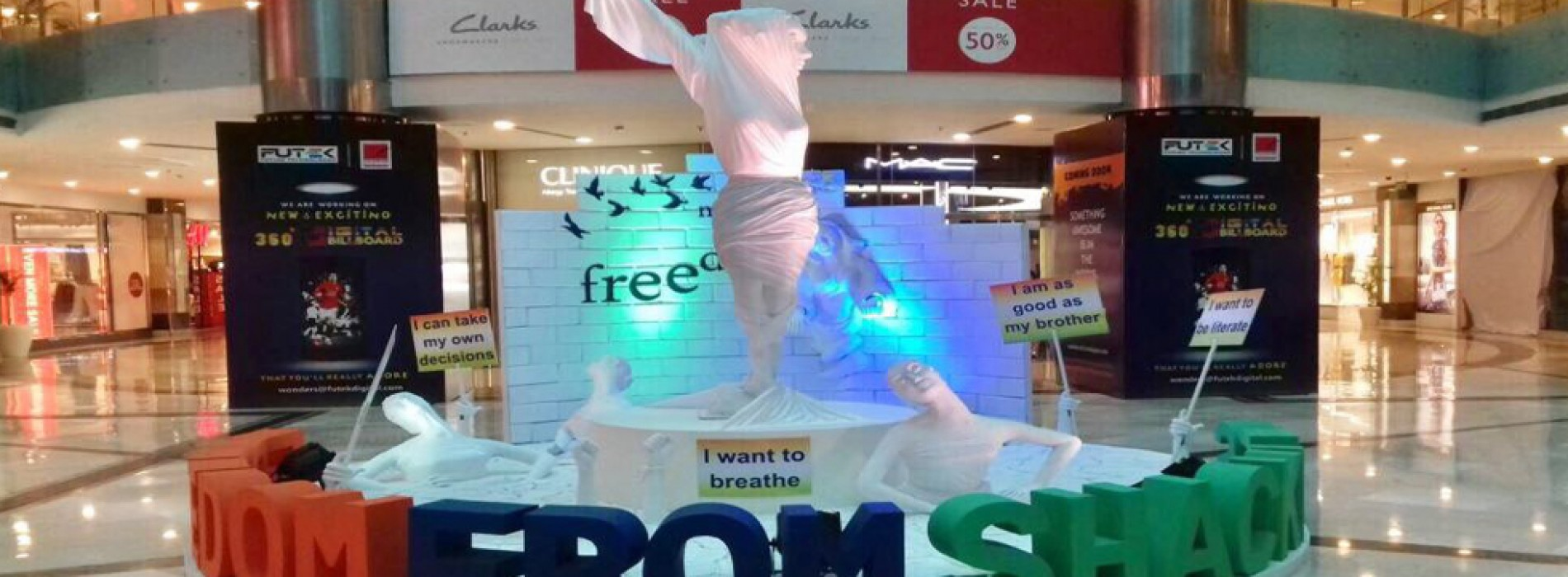 Ambience Mall to light up in Tri-Colour to Celebrate Independence Day