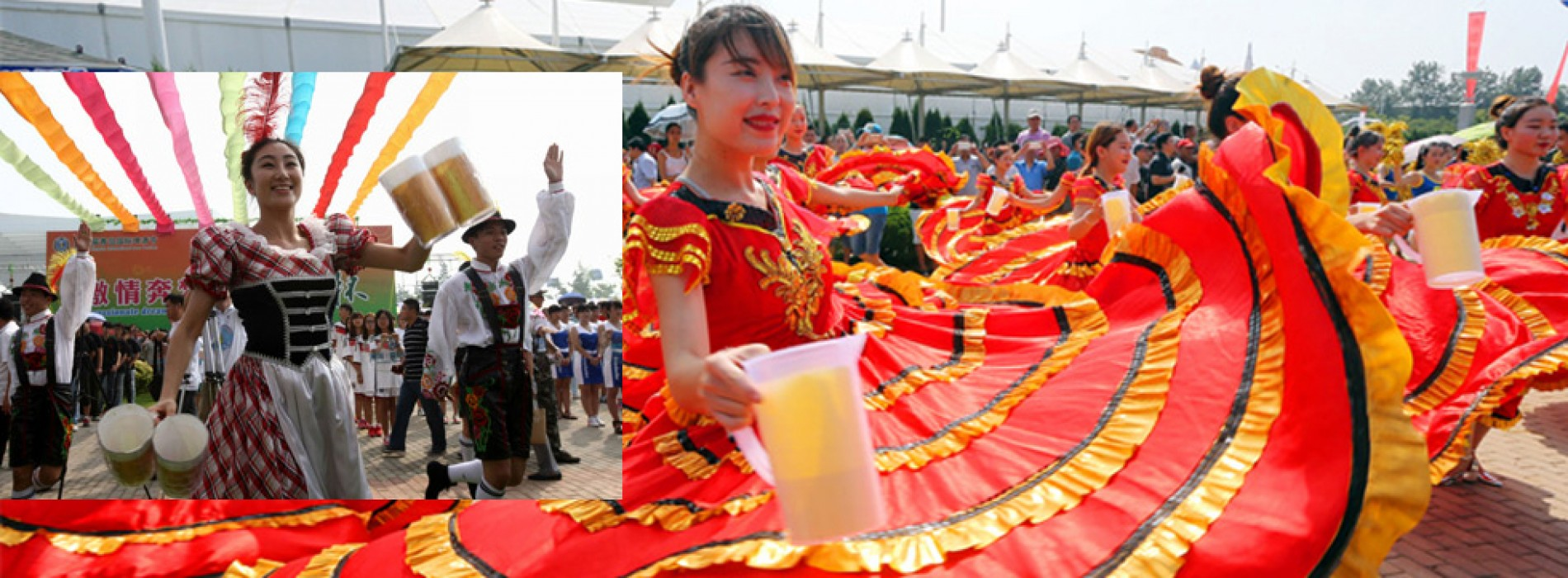 Asia's Oktoberfest is here – the 27th Qingdao International Beer Festival in Shandong