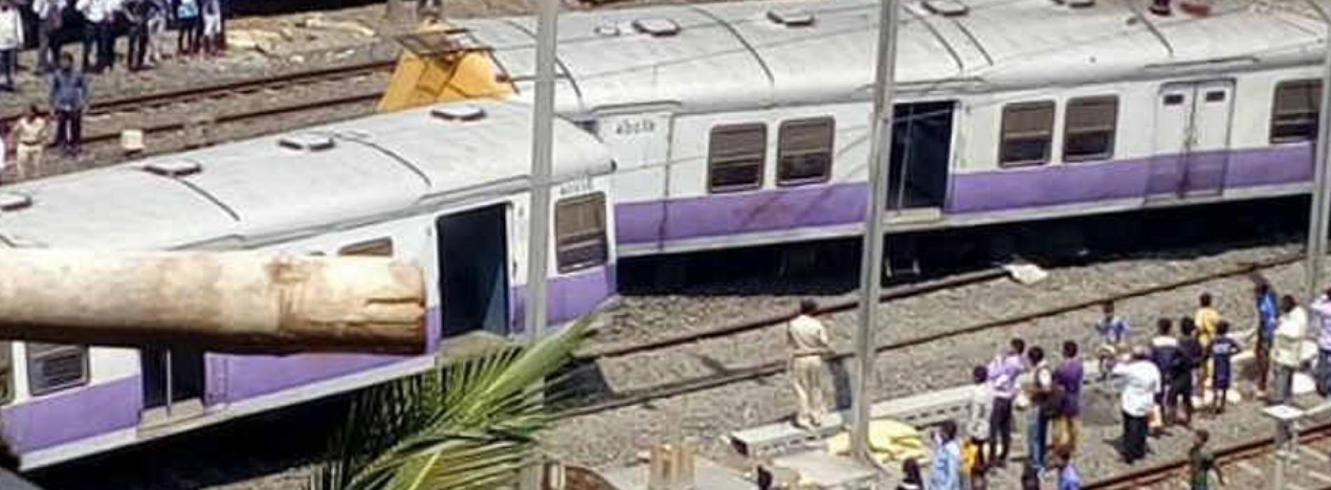 6 coaches of Mumbai local train derails, 5 injured