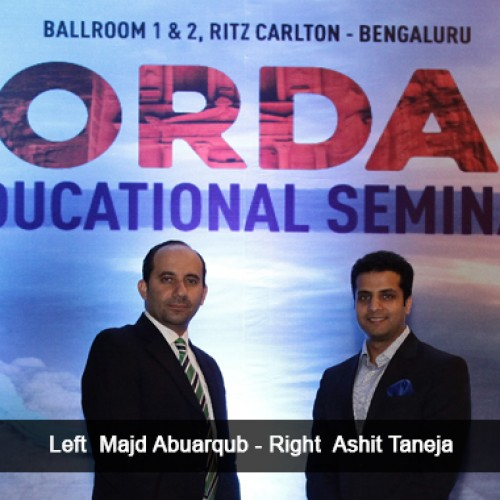 Jordan Tourism Board holds Educational Seminars in Mumbai, Bangalore & New Delhi