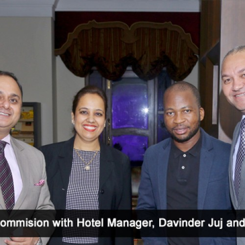 Eros Hotel rings in the re-launch of the Lounge AND Bar
