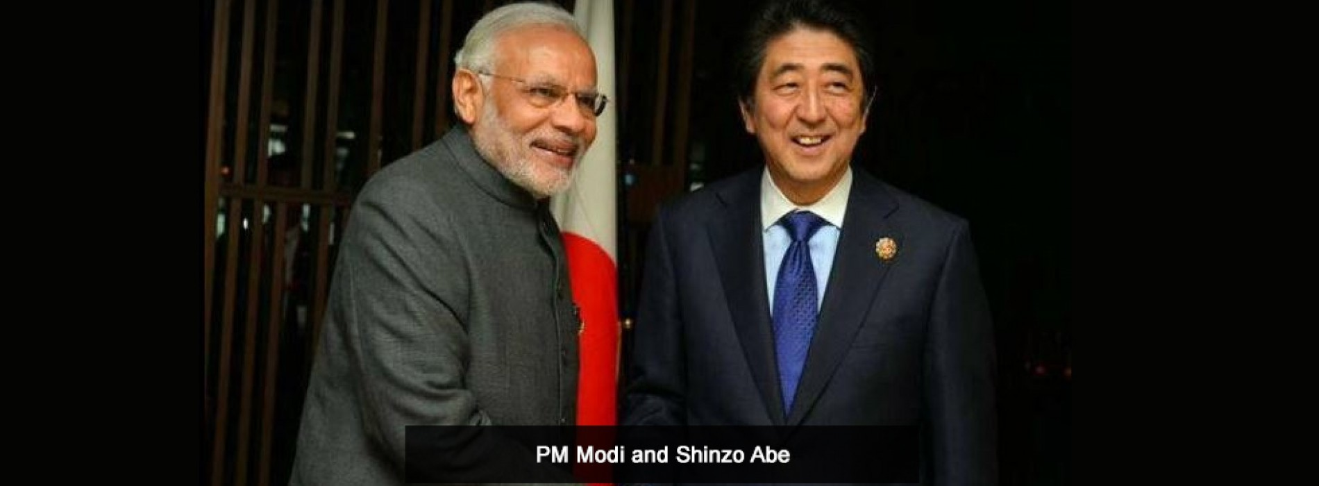 PM Modi and Shinzo Abe to lay foundation stone of bullet train on Thursday