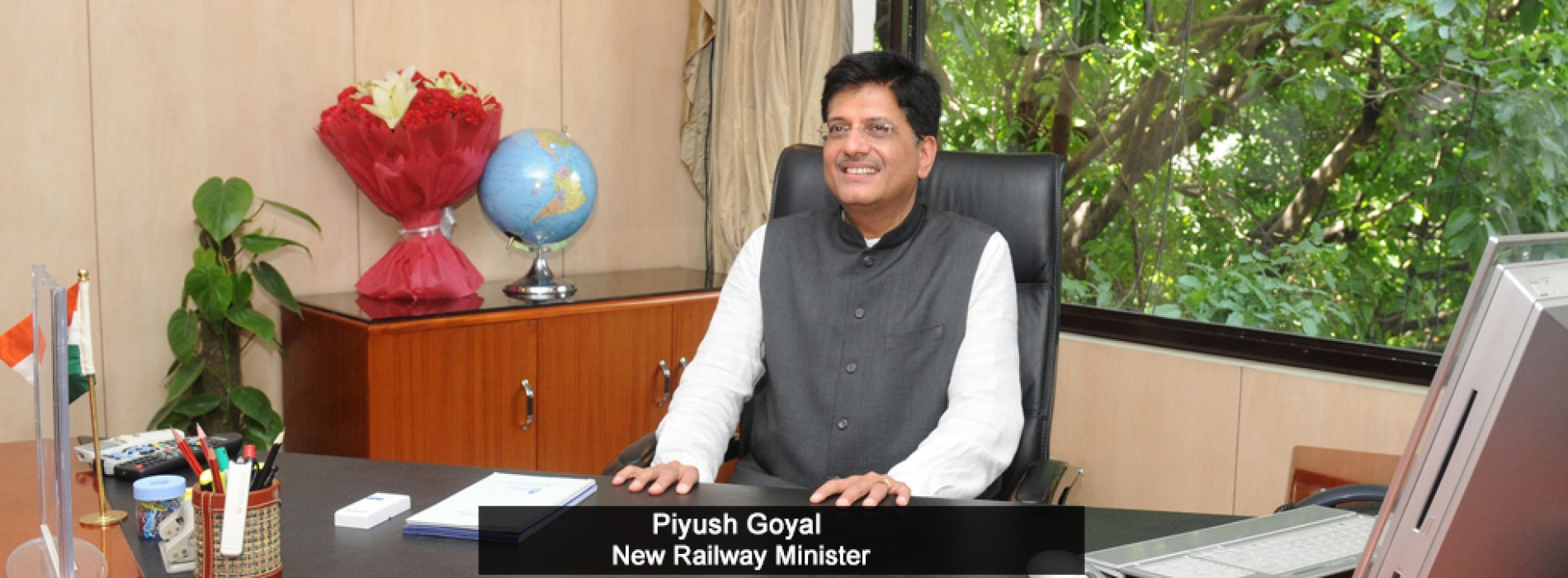 Piyush Goyal is new railway minister