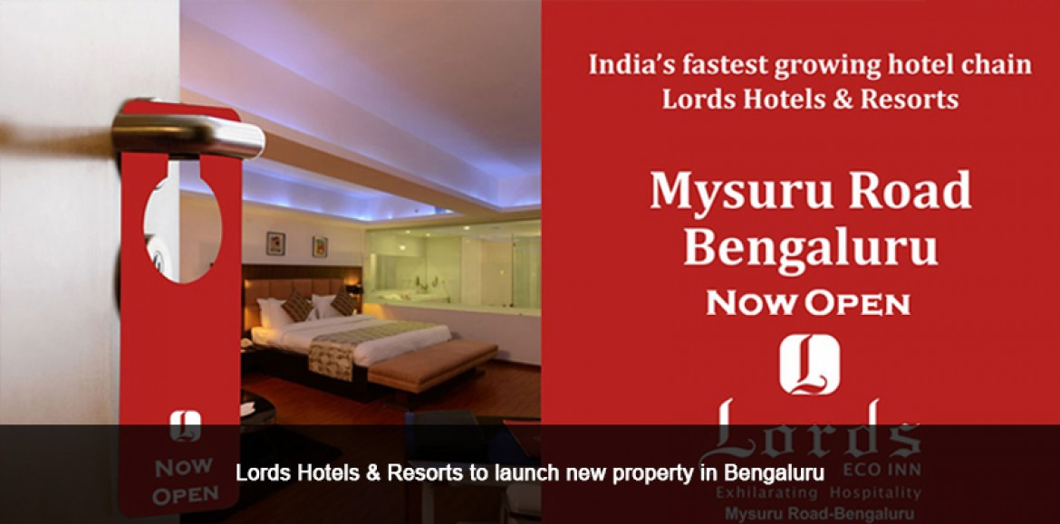 Lords Hotels & Resorts to launch new property in Bengaluru