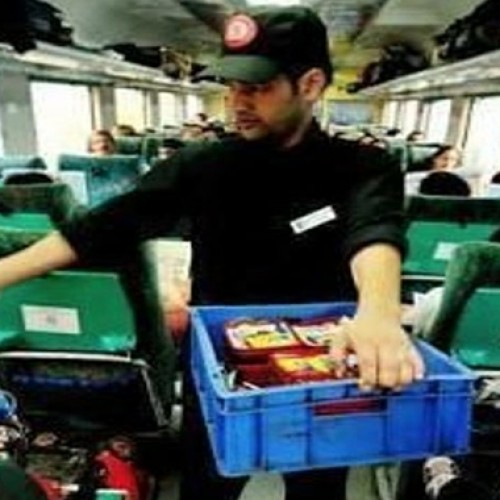 Soon record your feedback on tablets about meals on premium trains