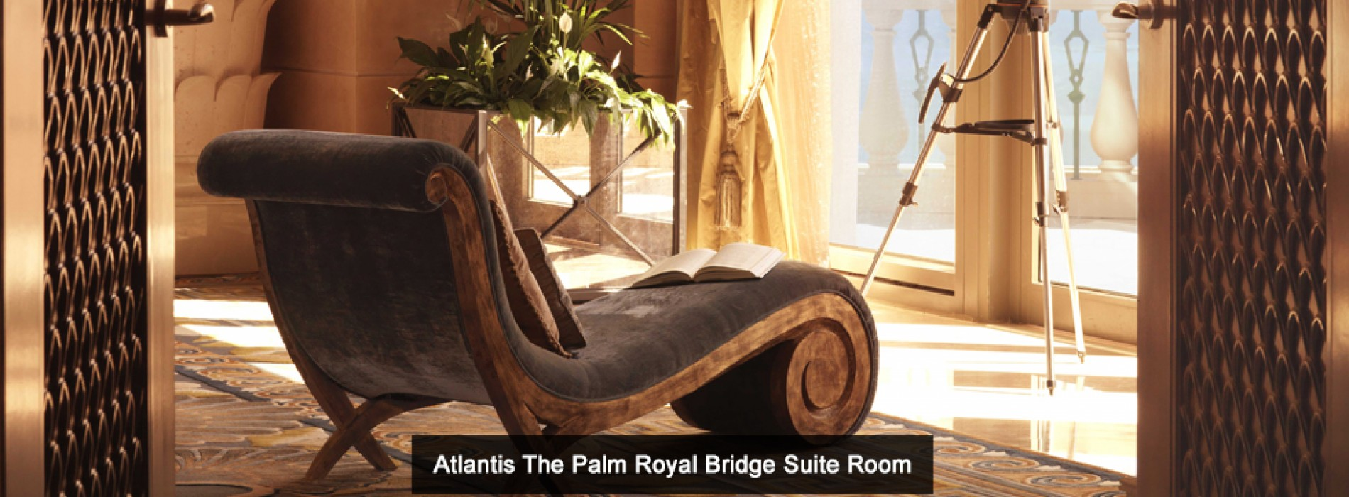 Atlantis, The Palm's guide to Luxury – inside the Royal Bridge Suite