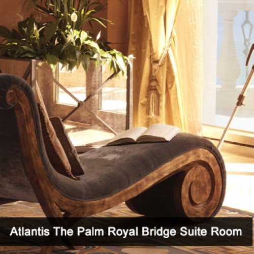 Atlantis, The Palm's guide to Luxury – inside the Royal Bridge Suite