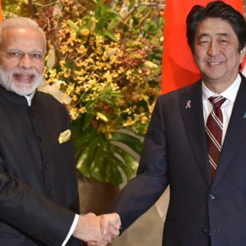 Shinzo Abe will undertake a two-day official visit to India from today to hold the annual India-Japan Summit