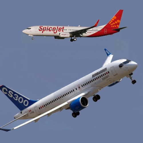 Bombardier inks $1.7 bn deal with SpiceJet for 50 jets
