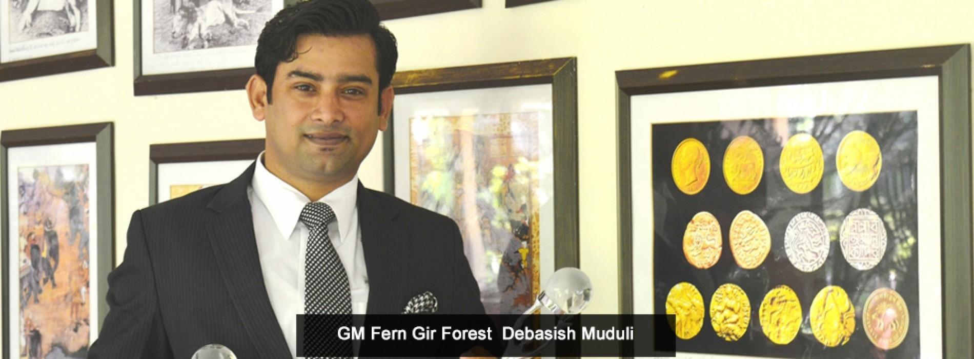 "Gujarat Tourism declares The Fern Gir Forest Resort as ""The Best Resort of Gujarat"""