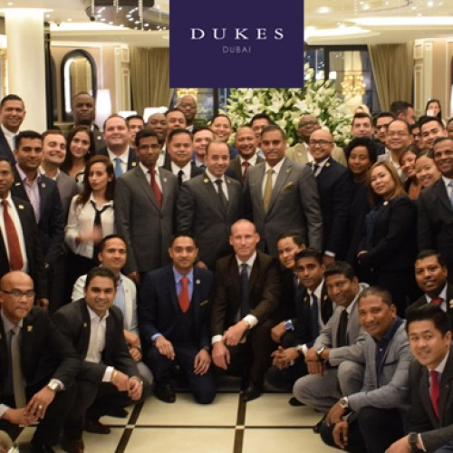 DUKES Dubai offers key for UAE concierge meeting
