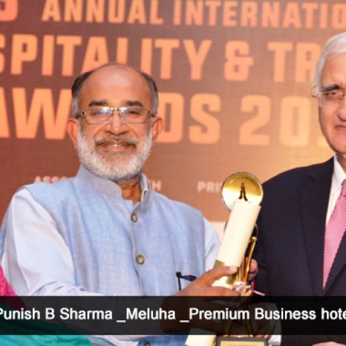 Meluha-The Fern, Mumbai receives three Awards for Excellence in Hospitality Industry