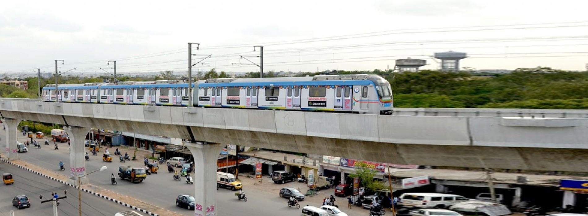 Narendra Modi to inaugurate Hyderabad metro rail on November 28