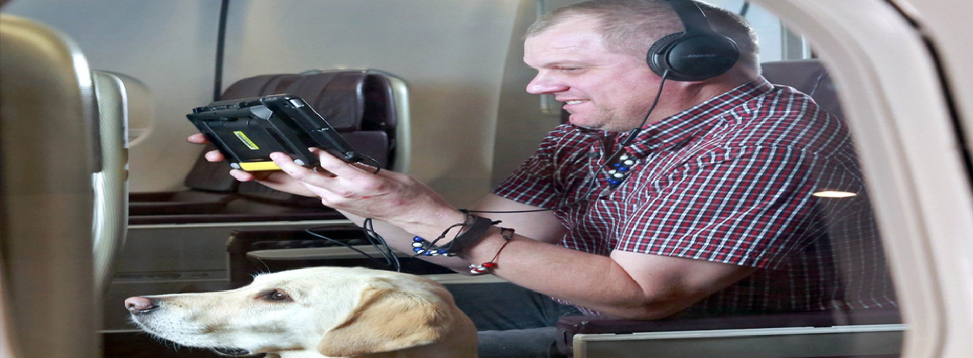 Virgin Atlantic becomes first airline to offer accessible entertainment for customers with sight loss