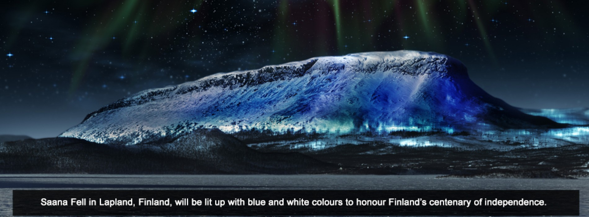 Finland's centenary of independence is being celebrated in an epic way throughout the world