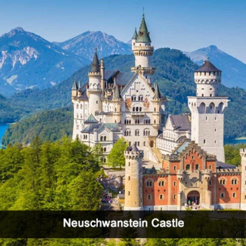 Tango Argentino at the foot of the famous Neuschwanstein Castle