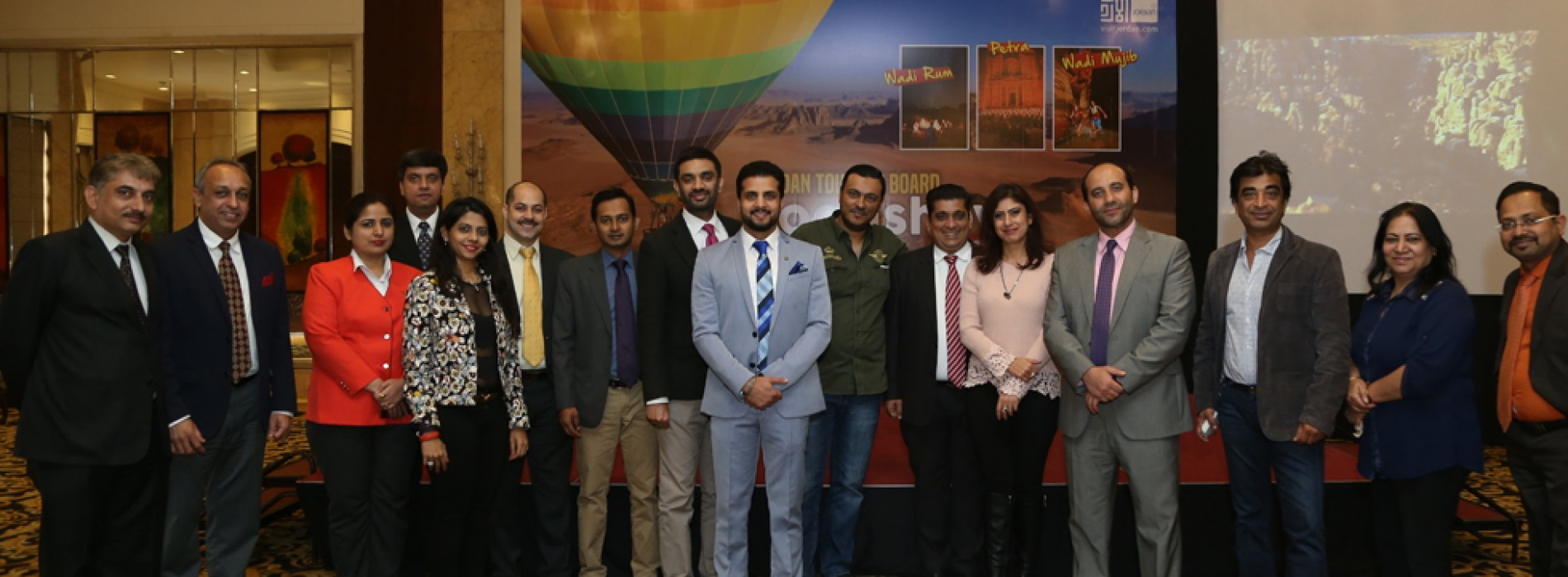 Jordan Tourism Board conducts B2B Roadshow in New Delhi