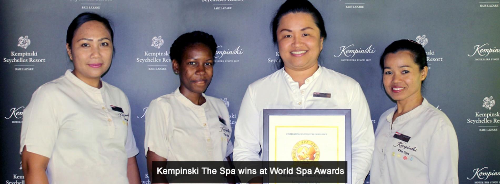 World Spa Awards 2017 winners revealed: 'Kempinski The Spa' named Seychelles' Best Resort Spa