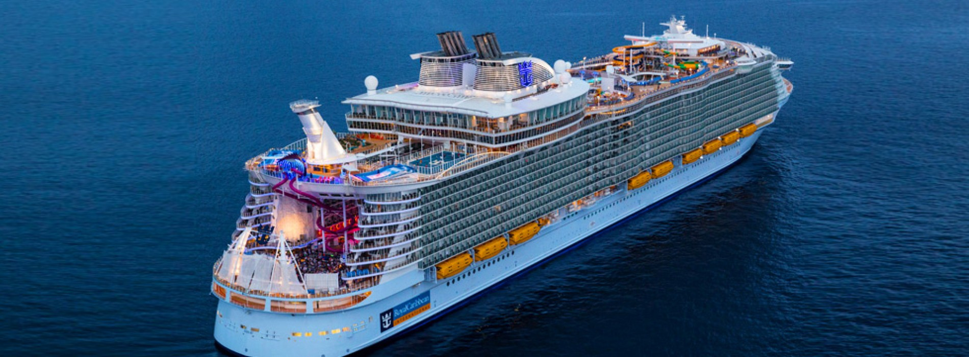 The World's largest cruise ship, 'Symphony of the Seas'