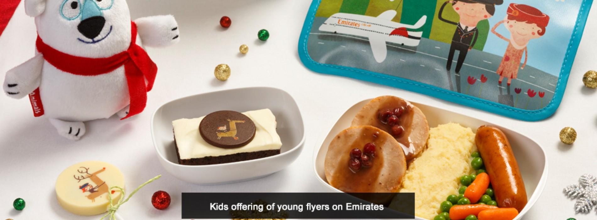 Emirates celebrates holiday season with special Christmas treats
