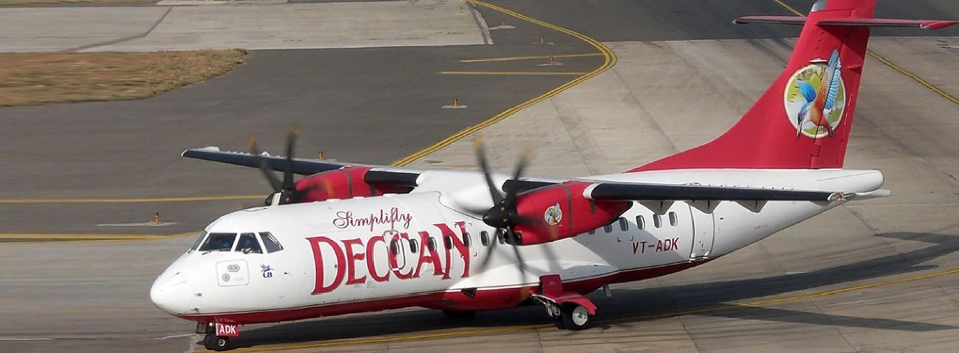 Air Deccan takes wings again, flies to Jalgaon