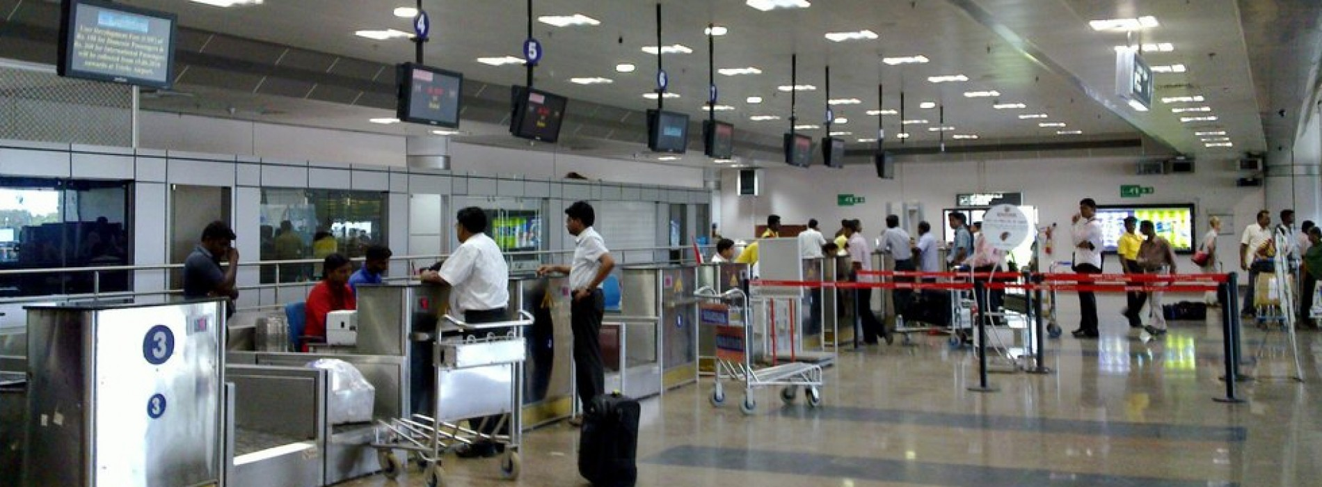 Aadhaar card based e-gates at airports in India to make travel seamless